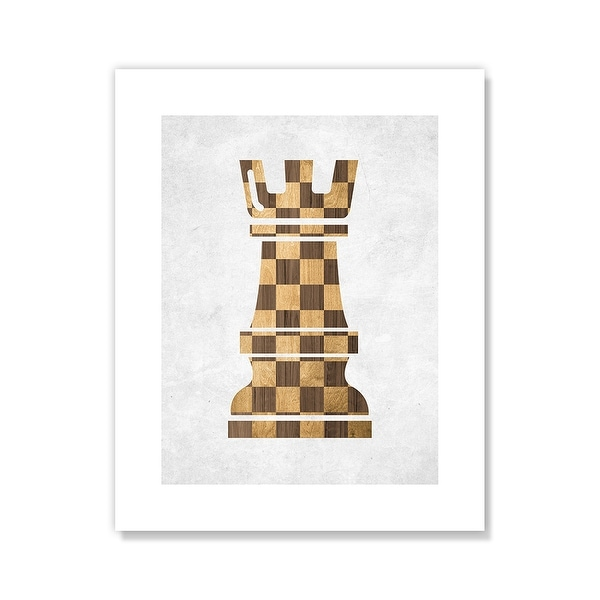 Check Mate Rook - Brown. Opens flyout.