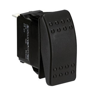 Paneltronics Switch Spst Black Off On Waterproof Rocker 004 178