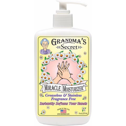 Grandma's Secret Miracle Moisturizer-8Oz