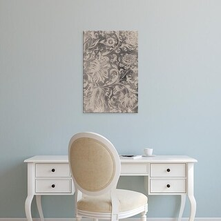 Easy Art Prints Vision Studio's 'Aged Floral II' Premium Canvas Art