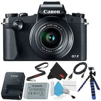 Canon PowerShot G1 X Mark III Digital Camera #2208C001 (International Model) Bundle