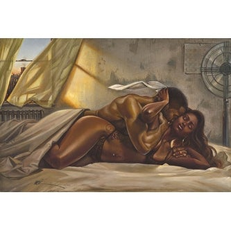 ''I Surrender'' by WAK - Kevin A. Williams Romantic Art Print (24 x 36 in.)