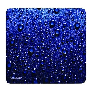 Offex Mouse Pad, Raindrop