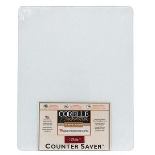 "Corelle 1512WHCH Counter Saver, 15"" x 12"", White"