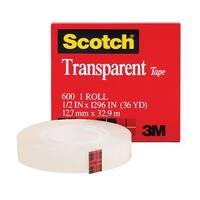 Tape Transparent Film 1/2 X 1296