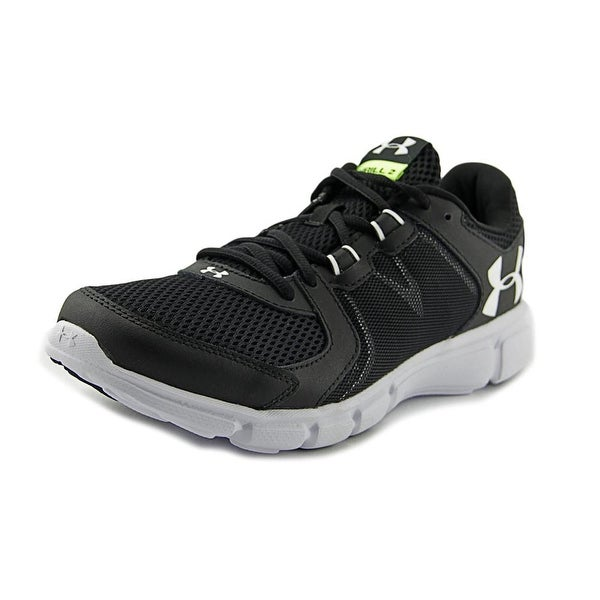 Under Armour UA Thrill 2 Men  Round Toe Synthetic Black Running Shoe