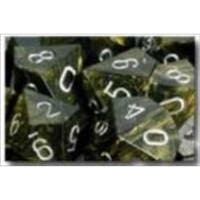 Manufacturing 27418 Leaf Black And Gold With Silver Numbering Dice