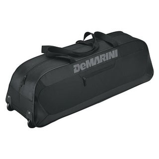 DeMarini Uprising Wheeled Bat Bag , Black
