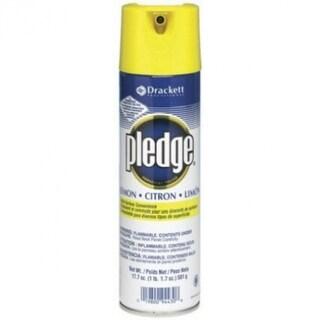 Pledge 77047 Lemon Clean Furniture Polish Spray, 13.8 Oz