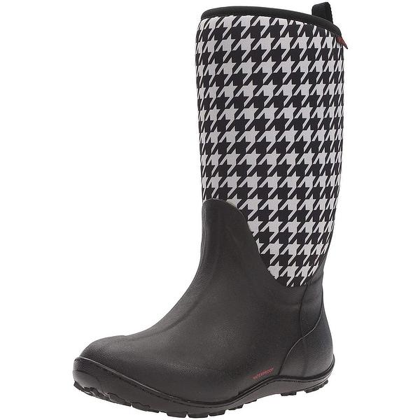 5781ae301 Shop Columbia Women's Snowpow Tall Print Omni-Heat Snow Boot - black ...