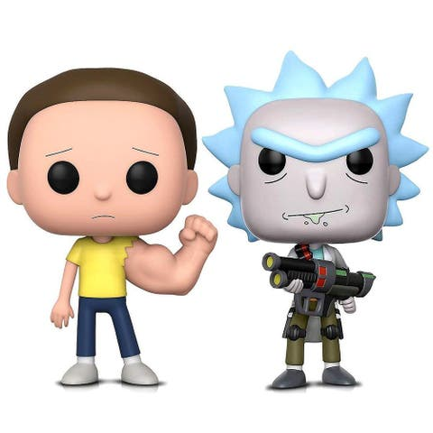 Funko POP Rick and Morty Sentinent Arm Morty and Weaponized Rick Action Figure Bobble Heads