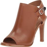Coach Womens IONA Peep Toe Casual Mule Sandals