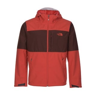 The North Face Hoodie PRS Jacket Faux Fur Lining Sequoia Red Large L