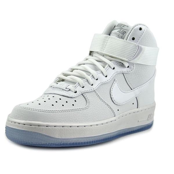 Nike Air Force 1 Hi Women Round Toe Synthetic White Basketball Shoe