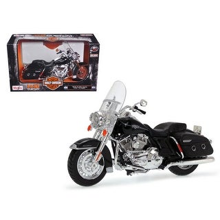 2013 Harley Davidson FLHRC Road King Classic Black Bike Motorcycle Model 1/12 by Maisto