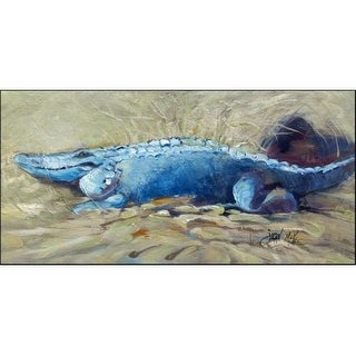 Carolines Treasures JMK1304HRM2858 Bruce The Gator Alligator Indoor & Outdoor Runner Mat 28 x 58 in.