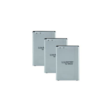 Replacement Battery For LG D830 / F460 Mobile Phones - BL-53YH (3000mAh, 3.8V, Li-Ion) - 3 Pack