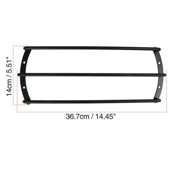 2pcs 12 Inch Black Color Metal Car Bar Grille Audio Speaker Subwoofer Grill Grille Cover Protector 12 4 Bars