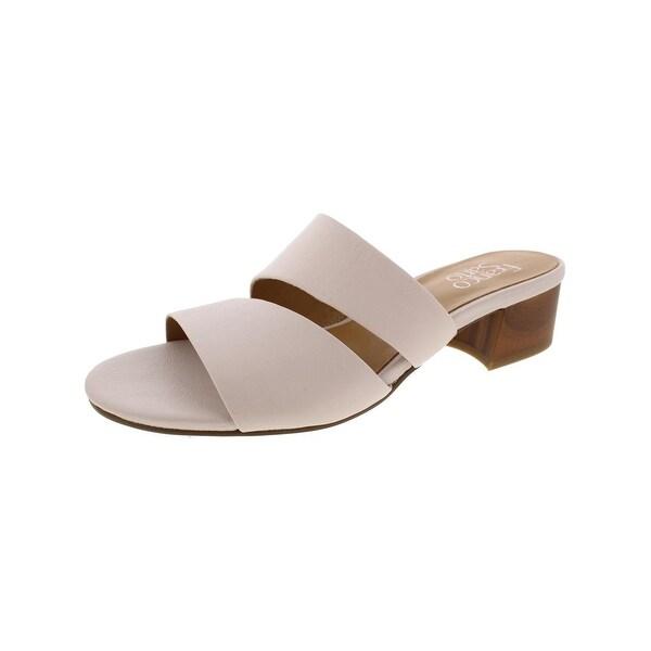 Franco Sarto Womens Tallen Dress Sandals Mules Open Toe