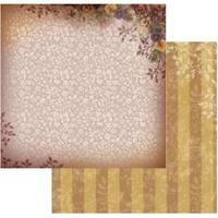 """Pansy Damask - Hearts Ease Double-Sided Paper 12""""X12"""" (5/Pack)"""