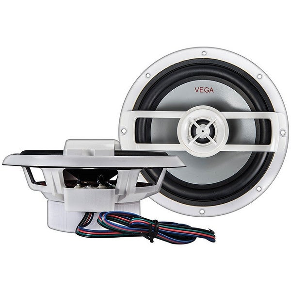 "Cerwin Vega 6.5"" 2-way Vega Marine High Output Coaxial Speaker (Pair) - 250W MAX/60W RMS"
