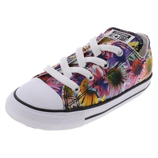 Converse Girls Casual Shoes Low Top Skater - 10 medium (b,m) toddler
