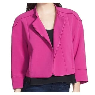 Chelsea28 NEW Pink Women's Size XS Open Front Crop Rounded Jacket|https://ak1.ostkcdn.com/images/products/is/images/direct/d4bc1a27d8090b155903c605c69139c3cf41e012/Chelsea28-NEW-Pink-Women%27s-Size-XS-Open-Front-Crop-Rounded-Jacket.jpg?impolicy=medium