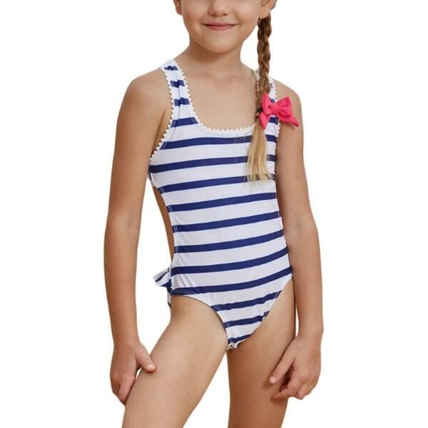 Utyful Girls Floral Print Long Sleeve Rash Guard Ruffle One Piece Cute Swimsuit Bathing Suit