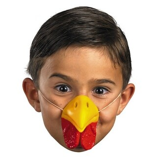 Chicken Nose Facial Piece for Halloween Costume - standard - one size