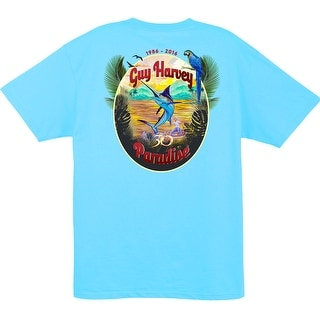 Guy Harvey Mens Paradise 30th Shirt