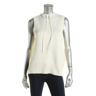 DKNY Womens Hooded Sweater Cashmere Sleeveless (3 options available)