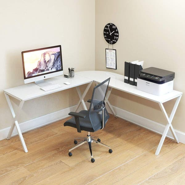 3 Piece L Shaped Computer Desk
