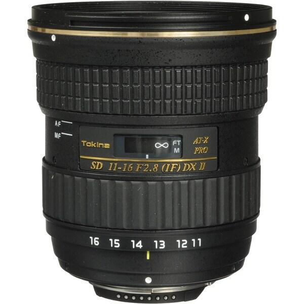 Tokina AT-X 116 PRO DX-II 11-16mm f/2.8 Lens for Nikon F (International Model) - black
