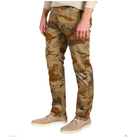 Dockers Men's Alpha Slim Fit Tapered Leg Khaki Pant, Camouflage, W28/L28