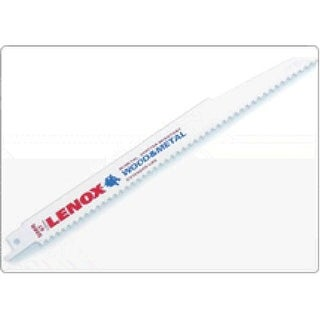 "Lenox 20575-634R Reciprocating Saw Blade, 6"", Metal"