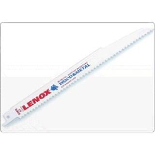 "Lenox 20579-824R Reciprocating Blad For Metal Less Than 1/8"" Thick, 8"" X 3/4"""