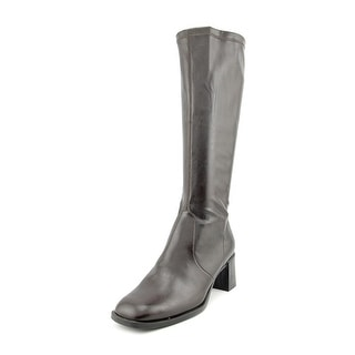 A2 By Aerosoles Make Two Women Round Toe Synthetic Brown Knee High Boot