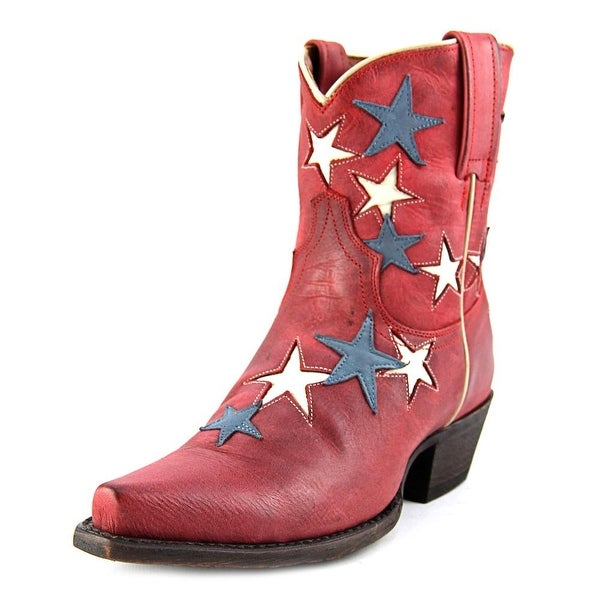 American Rebel Boot Company Country Star Bootie Western Boot