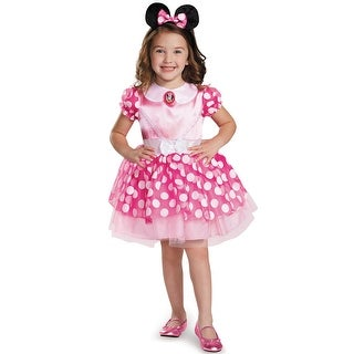 Disguise Pink Minnie Mouse Classic Tutu Toddler/Child Costume