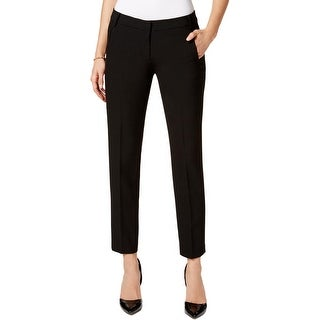 Kasper Womens Petites Dress Pants Ankle Flat Front