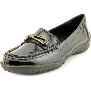 Walking Cradles Clara W Round Toe Patent Leather Loafer
