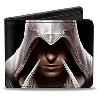 Ezio Hidden Blade Close Up + Assassin's Creed The Ezio Collection Bi Fold Bi-Fold Wallet - One Size Fits most