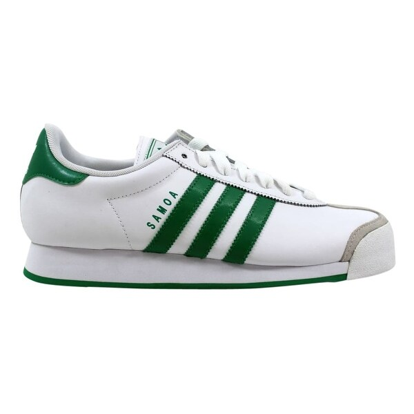 9f45cd9da41a Shop Adidas Men s Samoa White Green G22597 - Free Shipping Today ...