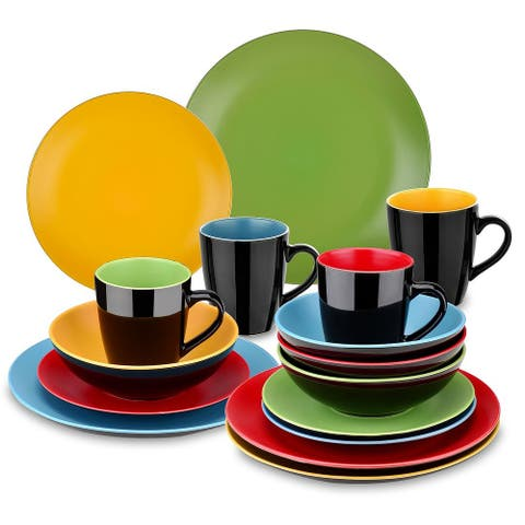 vancasso Allegro Stoneware 16-Piece Dinnerware Set