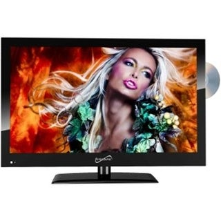 Supersonic 1080P Led Widescreen Hdtv With Hdmi Input, Ac/Dc Compatible For Rvs And Built-In Dvd Player, 19-Inch