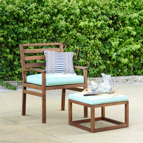 Tybee Outdoor Chair & Ottoman by Havenside Home