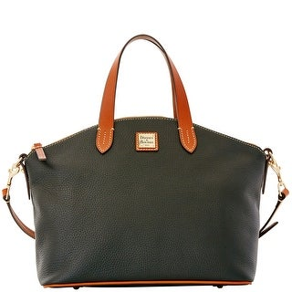 Dooney & Bourke Pebble Grain Satchel (Introduced by Dooney & Bourke at $248 in Dec 2015) - Black