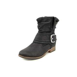 Madeline Bless You Too Round Toe Synthetic Ankle Boot