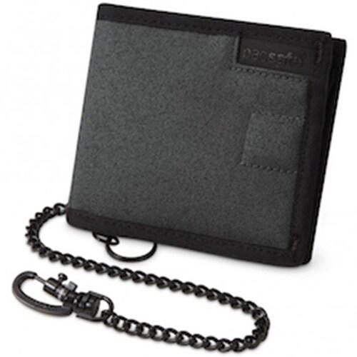Pacsafe RFIDsafe Z100 - Anti-Theft RFID Blocking Bi-fold Wallet w/ 5 Card Slots
