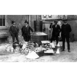 Largest Moonshine Still in Captivity - Vintage Photograph (Keepsake Tin)